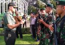 Dandim Pimpin Apel Pasukan Pengamanan RI 1
