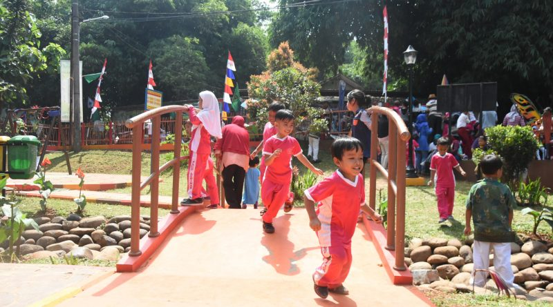 Hingga Kini, Depok Miliki 105 Taman yg Tersebar di 21 Kelurahan