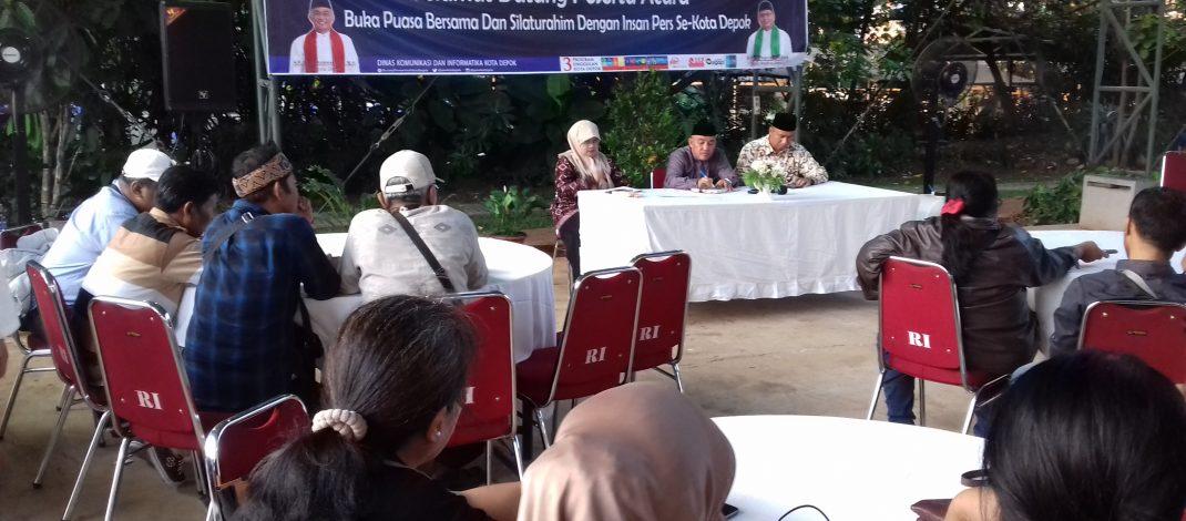 Diskominfo & Walikota Buka Puasa Bareng Insan Pers Se-Depok