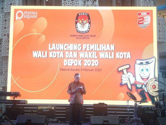 Hadiri Launching Tahapan Pilkada Depok 2020, Hardiono Harapkan Partisipasi Masyarakat Meningkat