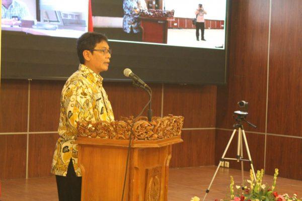 Hardiono Pimpin Rapat Sosialisasi Perpres 33/2020 Terhadap ASN