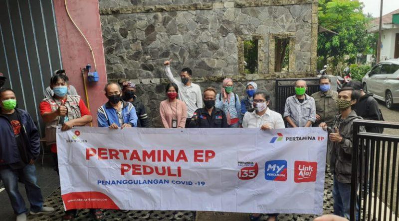 Pertamina EP Peduli & DMC Berbagi Salurkan 100 Paket Sembako
